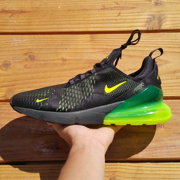 Nike Air Max 270 Slime Volt Green Athletic Running